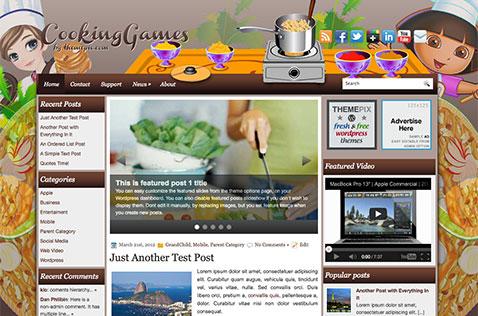cookinggames-wordpress-theme