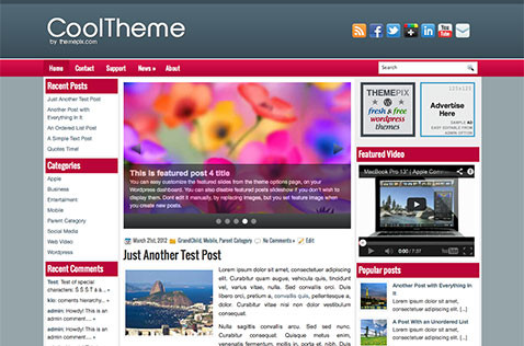 cooltheme-wordpress-theme