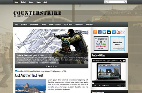 counterstrike-wordpress-theme