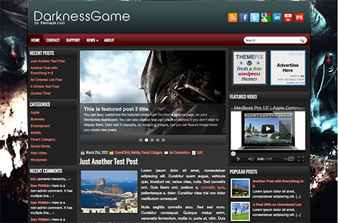 darknessgame-wordpress-theme
