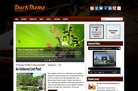 darktheme-wordpress-theme