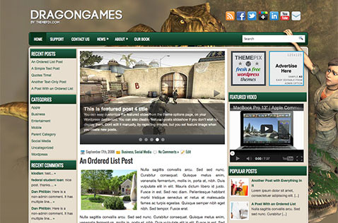 dragongames-wordpress-theme