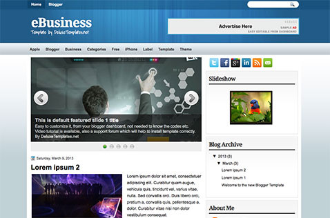 ebusiness-blogger-template