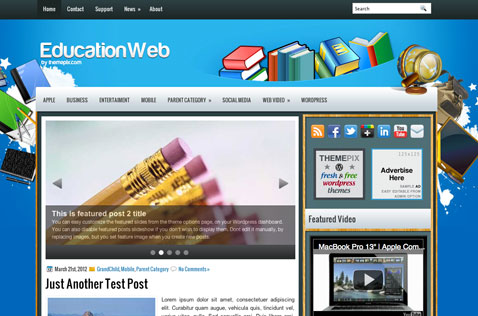 educationweb-wordpress-theme