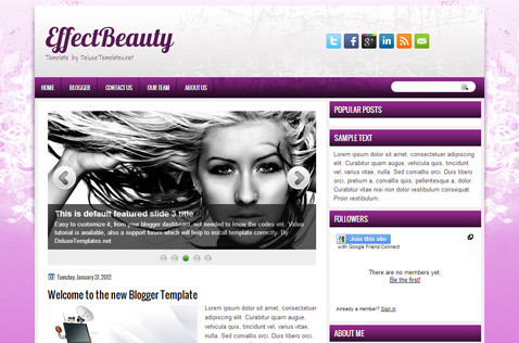 effectbeauty-blogger-template