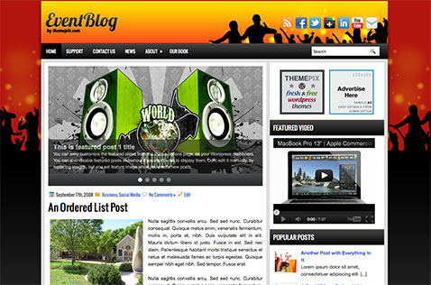 eventblog-wordpress-theme