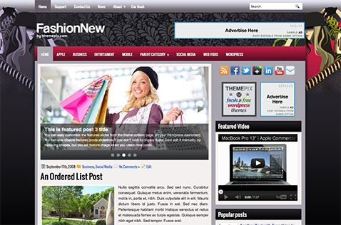 fashionnew-wordpress-theme
