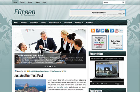 fgreen-wordpress-theme