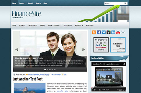 financesite-wordpress-theme