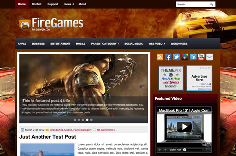 firegames-wordpress-theme