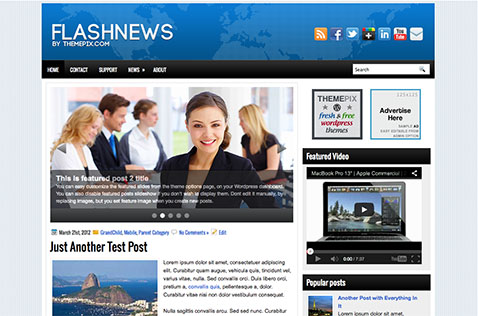 flashnews-wordpress-theme