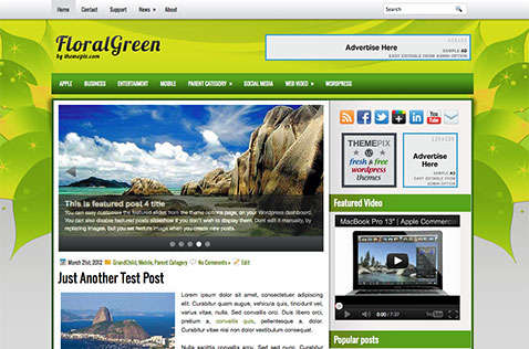 floralgreen-wordpress-theme