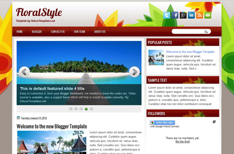 floralstyle-blogger-template