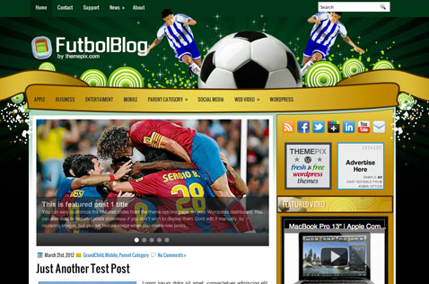 futbolblog-wordpress-theme