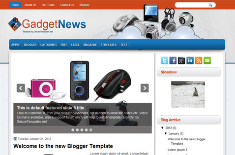 gadgetnews-blogger-template