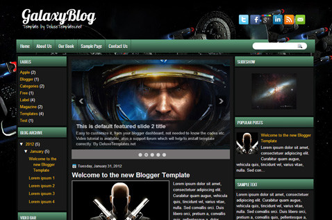 galaxyblog-blogger-template