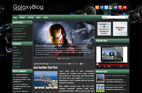 galaxyblog-wordpress-theme
