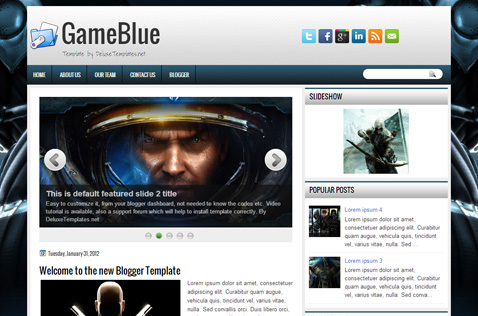 gameblue-blogger-template