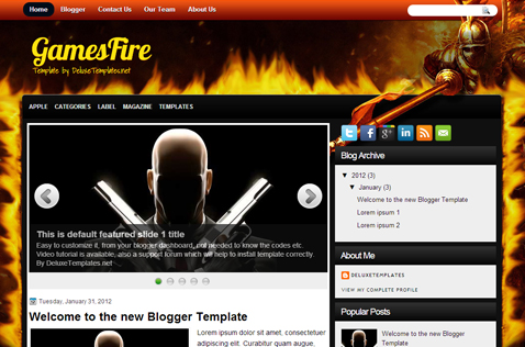 gamesfire-blogger-template