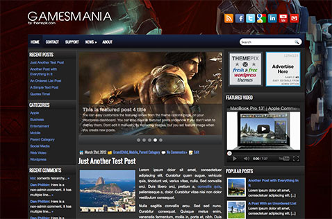 gamesmania-wordpress-theme