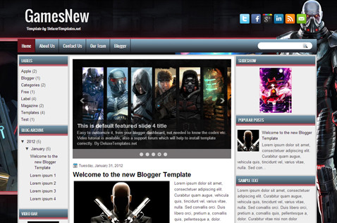 gamesnew-blogger-template