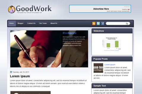 goodwork-blogger-template
