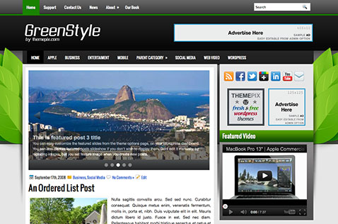 greenstyle-wordpress-theme