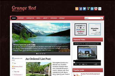 grungered-wordpress-theme