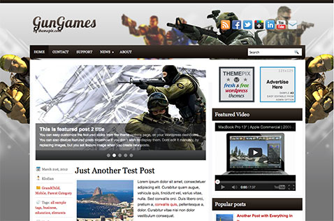 gungames-wordpress-theme