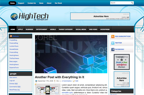 hightech-wordpress-theme