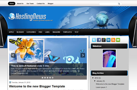 hostingnews-blogger-template