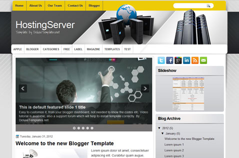 hostingserver-blogger-template