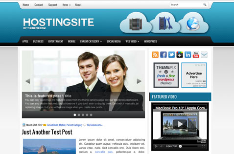 hostingsite-wordpress-theme