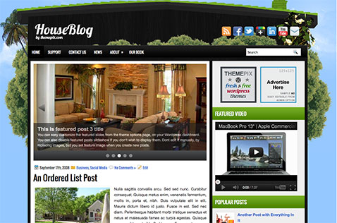 houseblog-wordpress-theme
