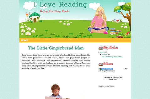 i-love-reading-blogger-template