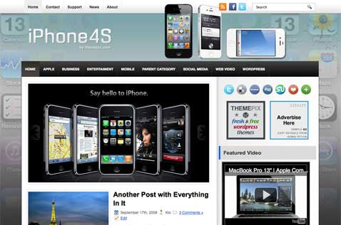 iphone4s-wordpress-theme
