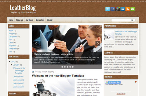 leatherblog-blogger-template