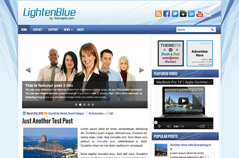 lightenblue-wordpress-theme