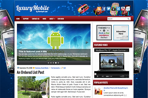 luxurymobile-wordpress-theme