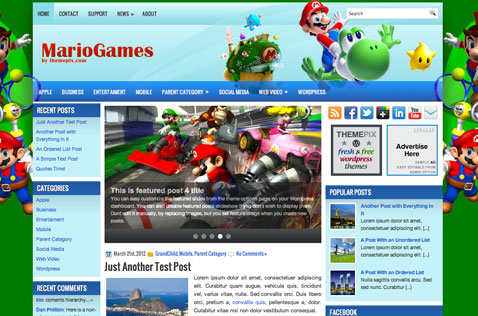 mariogames-wordpress-theme