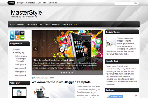 masterstyle-blogger-template