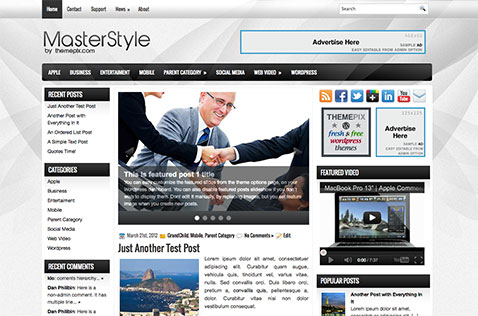 masterstyle-wordpress-theme