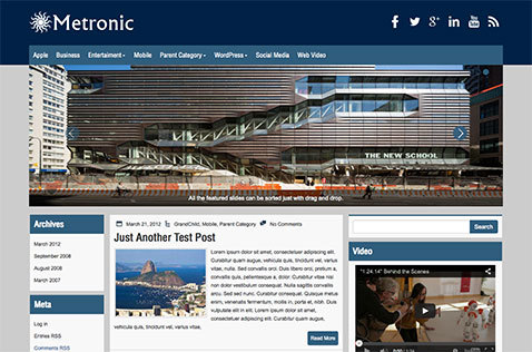 metronic-wordpress-theme
