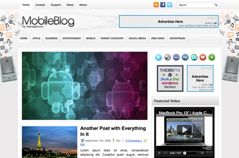 mobileblog-wordpress-theme