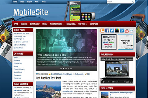 mobilesite-wordpress-theme