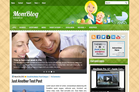 momblog-wordpress-theme