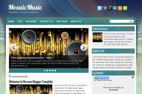 mosaicmusic-blogger-template