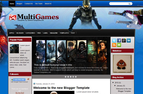 multigames-blogger-template