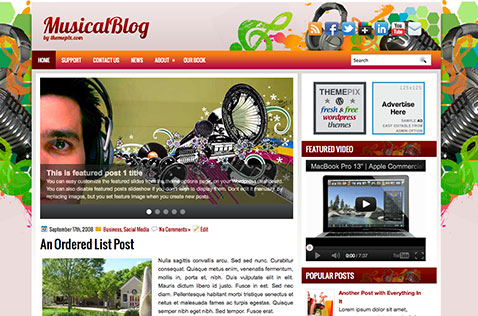 musicalblog-wordpress-theme