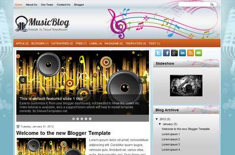 musicblog-blogger-template